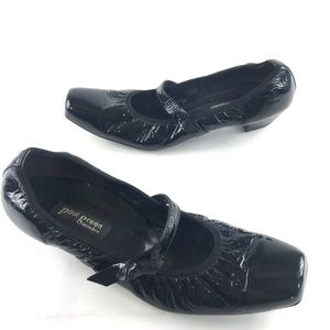 Paul Green Black Patent Mary Jane Shoes